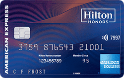 Hilton Honors American Express Aspire Card