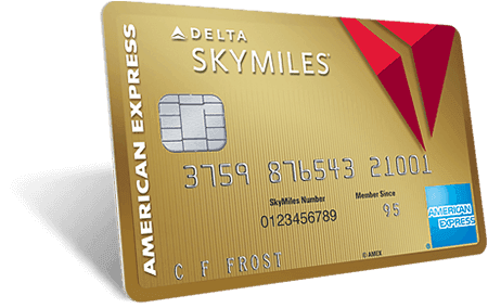 Gold Delta SkyMiles<sup>&reg;</sup> Credit Card